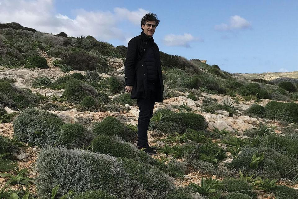 The architect attempting to 'rebalance' Comino